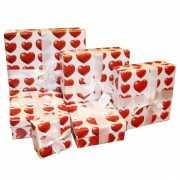 Valentijns kadoverpakking 22 cm