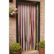 Plastic deurgordijn gekleurd 210 cm