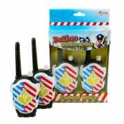 Kinder walkie talkie set politie