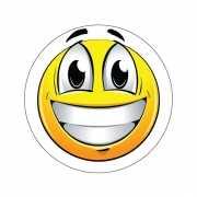 Kinder sticker Happy Smiley type 1