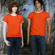 Oranje t-shirt mighty