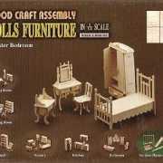 Poppenhuis meubels slaapkamer