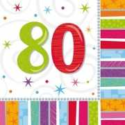 Servetten 80 jaar