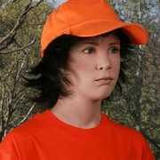 Kids baseballcap oranje