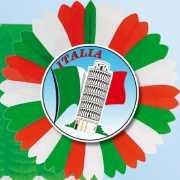 Italie thema versiering waaier