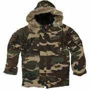 Kleding Camouflage winterjas