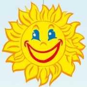 Kleine zon versiering