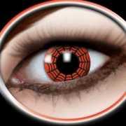 Rood spinnenweb partylenzen