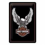 Harley Davidson metalen muurplaat 30 x 40 cm