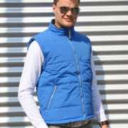 Heren bodywarmer Spring kobaltblauw