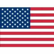 Stickertjes van vlag van de USA