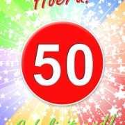 50 jaar verjaardag poster