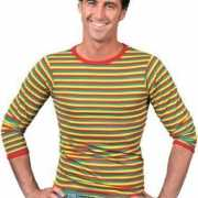 Shirt in carnavalskleuren voor heren