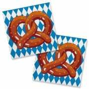 Oktoberfest pretzel servetjes