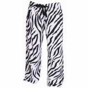 Zebra print loungebroek