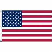 Vlag van USA mini formaat 60 x 90 cm