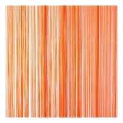 Orange draadgordijn