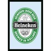 Decoratie spiegel Heineken Bier