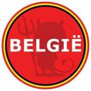 Belgie supporters pils onderzetters
