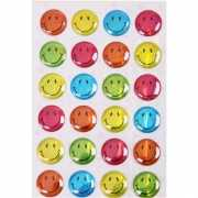 Smiley stickervel 25 stuks