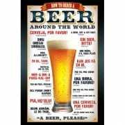 Bier maxi poster 61 x 91,5 cm