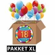 18 jaar feestartikelen pakket XL