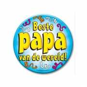 Beste papa button XXL