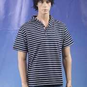 Ermano t shirt gestreept korte mouw
