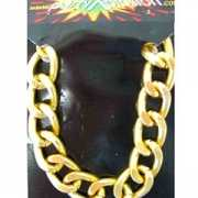 Gangster armband goud
