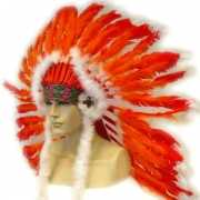 Indianentooien rood/oranje