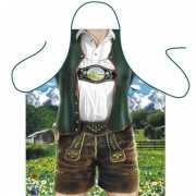 Funartikel schort Bavarian Man