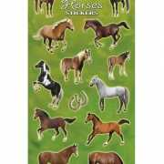 Grote paarden stickers