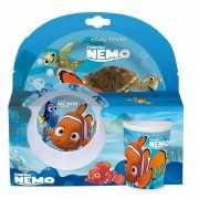 Plastic Nemo servies 3 delig