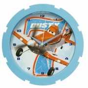 Blauwe klok Disney Planes 28 cm