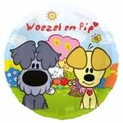Woezel en Pip thema folieballon