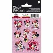 Minnie Mouse stickers op 3 velletjes
