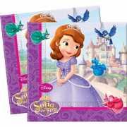 Sofia het prinsesje thema feestje servetten 20 stuks