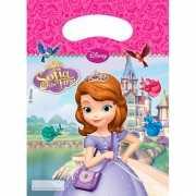 Sofia het prinsesje thema feestzakjes 6 stuks
