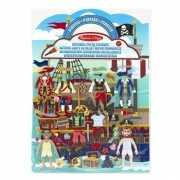 Stickerboek voor jongens piraten thema