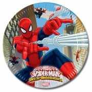 Spiderman bordjes 8 stuks