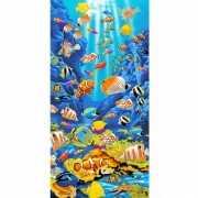 Tropische vissen strandlaken 75 x 150