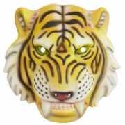 Plastic tijgerkop masker