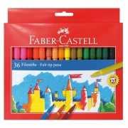 Hobby viltstiften gekleurd 36 stuks