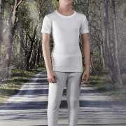 Thermo t shirt wit voor kinderen