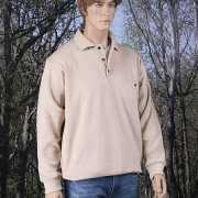 Lange mouw polosweater