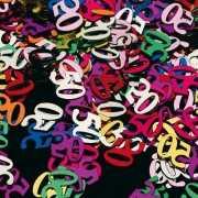 Gekleurde 50 jaar confetti
