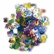 Gekleurde 30 jaar confetti