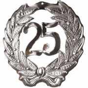 Decoratie krans 25 jaar
