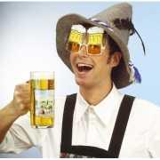 Feestbrillen bierpullen