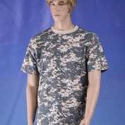 T shirt digi camouflage